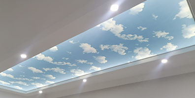 Elastični plafoni - Forma gotovo nebo